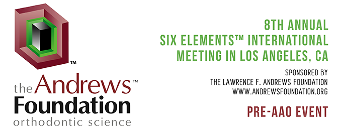 8th Annual Six Elements International Meeting in Los Angeles, CA. Sponsored by The Lawrence F. Andrews Foundation - www.andrewsfoundation.org